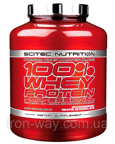 SciTec 100% Whey Protein Professional 2350 g (Шоколад-орех)