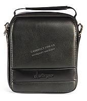 Зручна чоловіча стильна сумка Langsa art. 031 чорний, фото 1