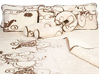 "Одеяло-плед из овечьей шерсти ""Alwero"" (двуспальное)"