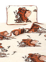 "Детское одеяло-плед из овечьей шерсти ""Alwero"""