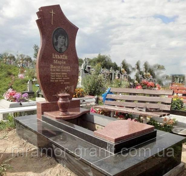 Мемориальный комплекс из гранита ПГ - 090