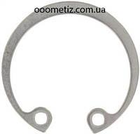 Кольцо стопорное внутреннее нержавеющее от Ø8 до Ø320, ГОСТ 13943-86, DIN 472
