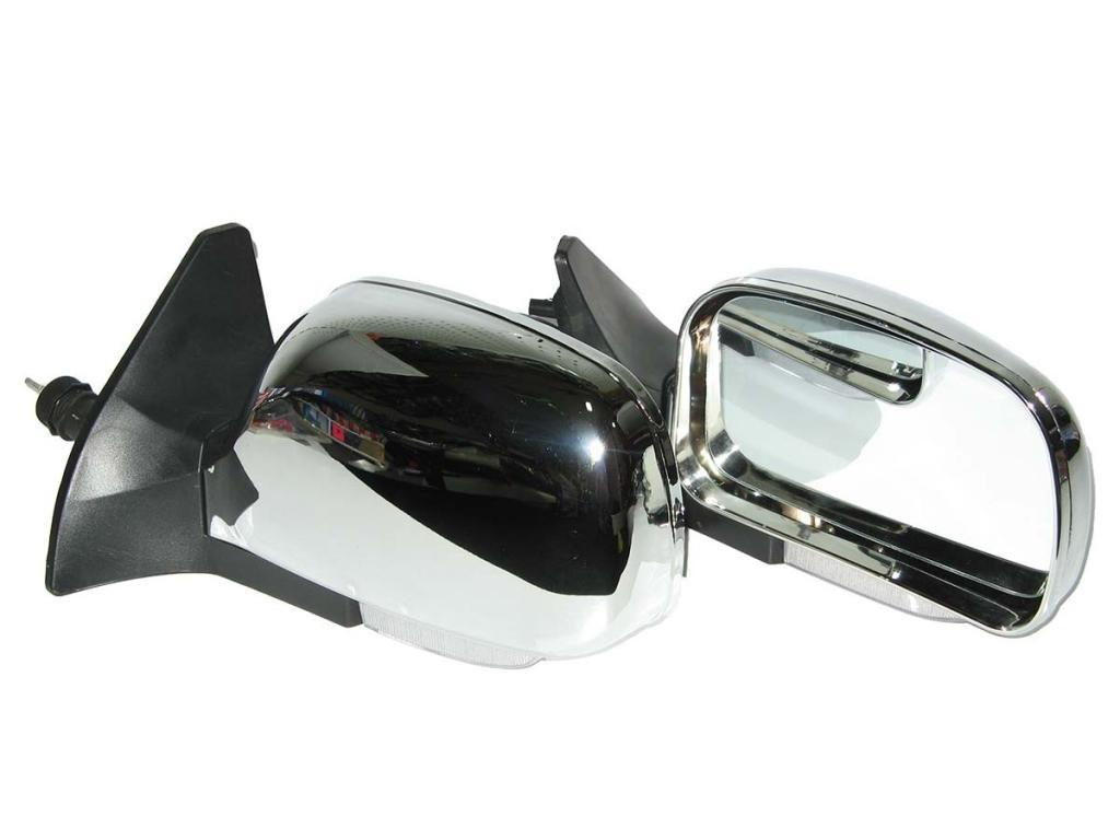 Боковые зеркала наружные заднего вида на для ВАЗ 2108-21099 хром/регул/повор