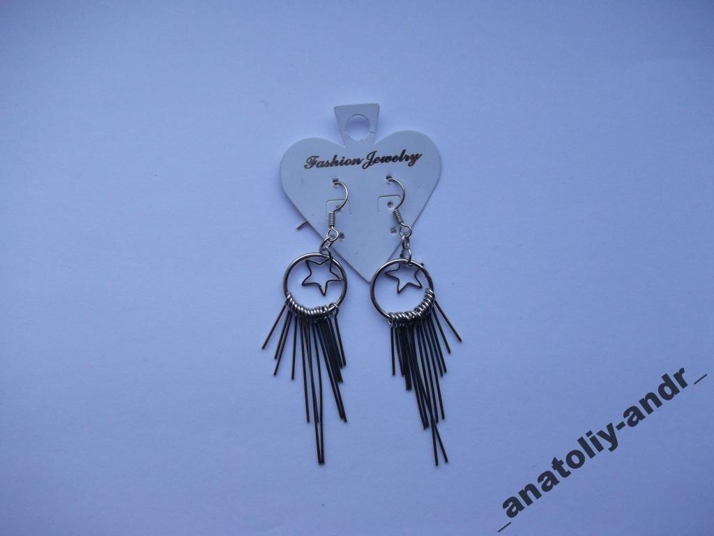 Серьги Drop Earrings Fashion Jewelry