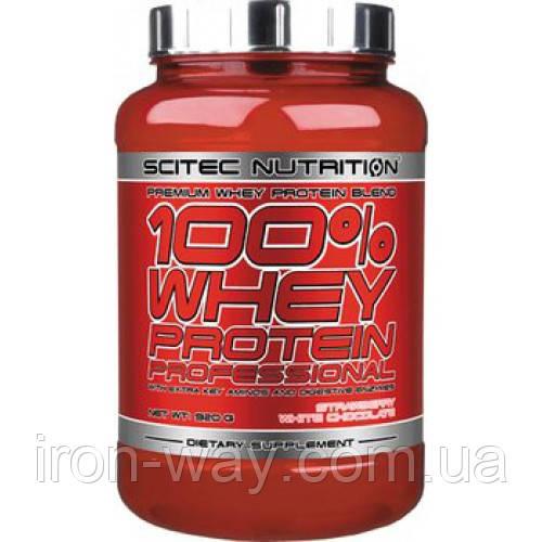 SciTec 100% Whey Protein Professional 920 g (Киви-банан)