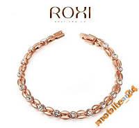 Браслет с иск. бриллиантами ROXI Brand золото 18К