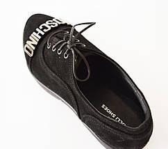 Туфли женские замшевые Olli 36-2450, фото 3
