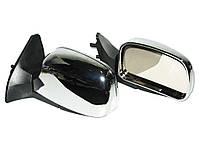 Боковые зеркала наружные заднего вида на для ВАЗ 2108, 2109, 2113-2115 YH-3109 (Chrome) антибликовые