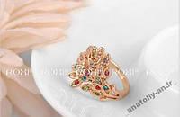 Кольцо Phoenix Покрытие золотом Roxi