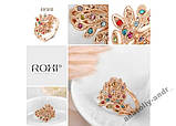 Кольцо Phoenix Покрытие золотом Roxi, фото 4