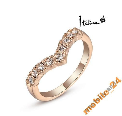Кольцо New fashion jewelry 18K gold