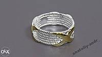 Кольцо Скай серебро 925 проба Беспл доставка, фото 1