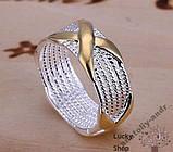 Кольцо Скай серебро 925 проба Беспл доставка, фото 2