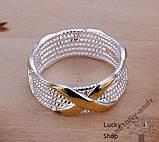 Кольцо Скай серебро 925 проба Беспл доставка, фото 3
