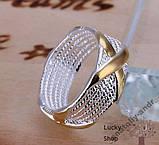 Кольцо Скай серебро 925 проба Беспл доставка, фото 4