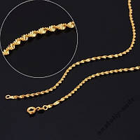 Цепь Twisted 18K Yellow 42 см