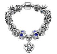 Браслет Pandora Пандора 925 Silver Fashion Beads, фото 1