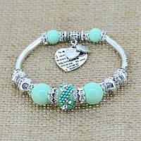 Красивый браслет стиль Pandora, фото 1