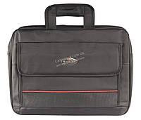 Большая мужская сумка под ноутбук  art. 093 черная