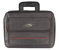 Большая мужская сумка под ноутбук  art. 098 черная