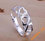 Кольцо Heart Серебро 925 проба, фото 2