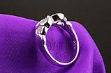 Кольцо Бесконечность Серебро 925 пробы, фото 4