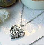 Медальон светящийся с цепочкой  925 silver, фото 5