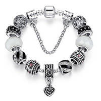 Браслет Pandora Пандора Romantic Charm Silver925, фото 1