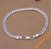 Мужской браслет Серебро 925, фото 1