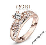 Кольцо Queen Favorite 2 в 1  Brand Gold 18 K, фото 3