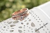 Кольцо Queen Favorite 2 в 1  Brand Gold 18 K, фото 2