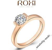 Кольцо Wedding Ring покрытие золотом Roxi Brand