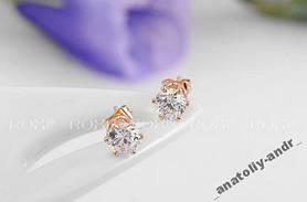 Сережки гвоздики Lovely Star Roxi