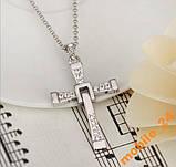 Крест Вина Дизеля из к-ф Форсаж (с цепочкой), фото 3