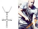 Крест Вина Дизеля из к-ф Форсаж (с цепочкой), фото 5