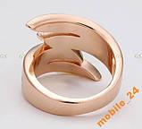 Кольцо с кристаллами Swarovski Rose Gold 18К, фото 3