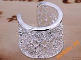 Кольцо с кристаллами sterling silver 925, фото 4