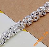 Стильный браслет Серебро 925 пробы, фото 4