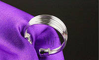 Кольцо регулируемое Серебро 925 проба, фото 1