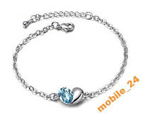 Браслет Austrian Crystal White Gold, фото 1