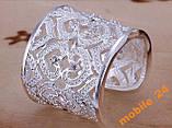 Кольцо с кристаллами sterling silver 925, фото 3