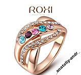 Кольцо Fashion Colorful  Покр золотом Roxi, фото 2