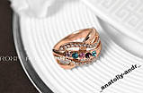 Кольцо Fashion Colorful  Покр золотом Roxi, фото 3