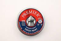 Пневматическое оружие. Пули Crosman Premier Super Point для пневматики, 0,51 г, 500 шт/уп., 4,5 мм