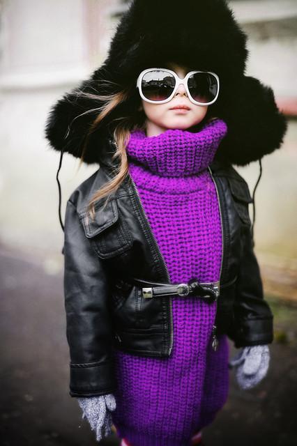 Теплая одежда для девочки