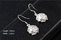Сережки Rose Earrings Серебро 925, фото 1