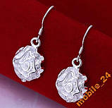 Сережки Rose Earrings Серебро 925, фото 2