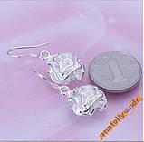 Сережки Rose Earrings Серебро 925, фото 3