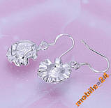 Сережки Rose Earrings Серебро 925, фото 4