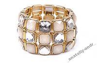Браслет Glass Bangle Cuff Bracelet, фото 1